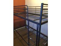 ## Ikea Svarta bunk bed with mattresses ##