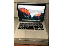 "Apple MacBook Pro 2015 Early 2.7Ghz/8Gb/128gbSSD 13"" Retina Display"
