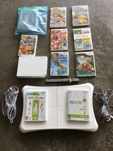 WII SYSTEM AND GAMES