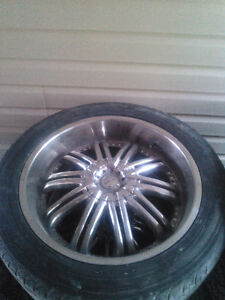 "22"" x 9.5"" wide rims ,multi 6 bolt GMC, ford, others"