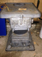 Antique Wood Stove from a CN Train  Caboose