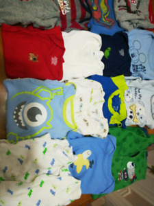 Huge brand name baby boy 0-3 month lot