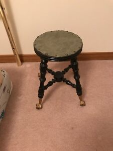 Wooden stool or flower stand