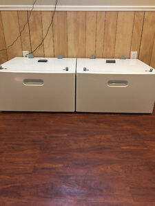 Front load wash & dryer stands