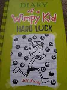 Diary of a wimpy kid hard cover book
