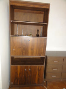 FREE Shelves with Drop-down desk and doors on bottom