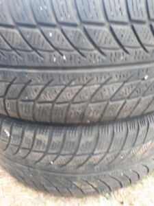 PAIR OF R16 205-60 WINTER TIRES