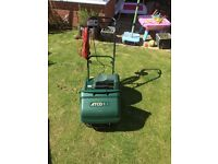 Atco electric cylinder lawn mower
