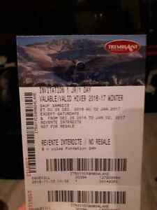 Billet ski snow Mont Tremblant / ticket