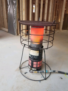 Natural Gas construction gas heater
