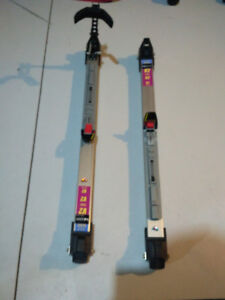 Roller Skis! Great for skiers who want to ski in the summer!