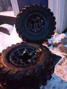 2013 Can Am Renegade Quad Rims and Tires Strathcona County Edmonton Area image 3