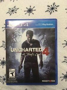 Uncharted 4-Ps4 Peterborough Peterborough Area image 1
