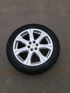 Cadillac SRX tires, rims and sensors! OEM. Excellent condition!