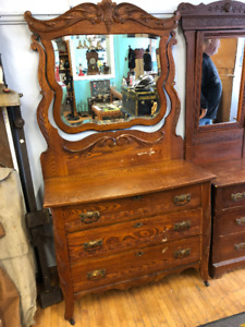 Antique Dresser Mirror Antiques Buy Or Sell Dressers Wardrobes