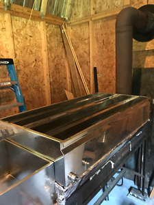 SOLD !Maple Syrup Evaporator Pan - 2x4 Stainless Steel