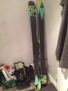 Gently Used Atomic Access Ski 180s ** Bindings not included