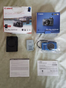 BRAND NEW Canon Powershot SX270 HS 12 MP/20x Opt Zoom Digital Ca