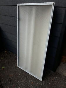 REDUCED Lot Price for 9 florescent light fixtures 2ft x 4ft