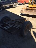 Small utility trailer    Solid Construction