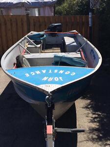 À vendre ou échange avec bateau avec volant