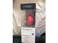 Fitbit Charge HR BNIB pink small *sealed*