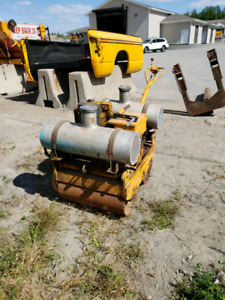 Double drum roller/compactor - BIDDING CLOSED