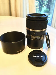 Like New Tamron 90mm f/2.8 Di SP 1:1 Macro Lens for Canon