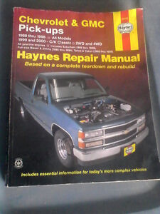 Haynes Repair Manual for Chevrolet and GMC Pick-ups