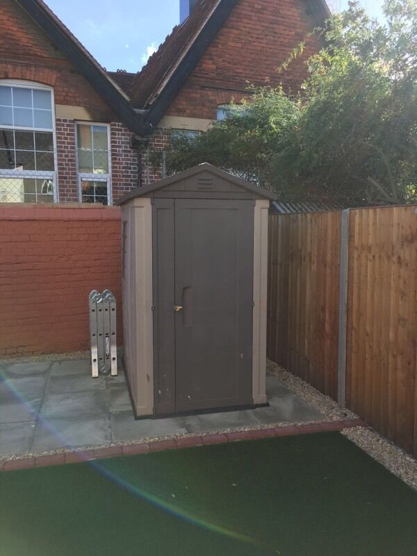 Keter 6ft by 4ft Garden Shed