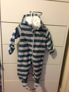 Fleece Snowsuit