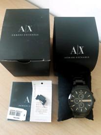 AX2164 Armani Exchange Black Watch