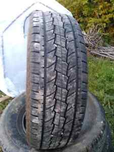 Tires for sale  Came off 2014 GMC Sierra Kingston Kingston Area image 4