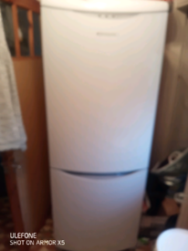 Hotpoint frost free fridge freezer 6 foot 4 inch tall with wine rack