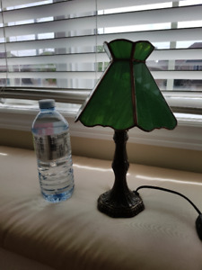 Small stain glass lamp