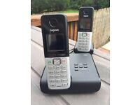 Gigaset twin cordless phones and base units