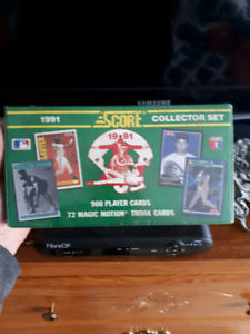 Score 1991 Collector Set Baseball Cards