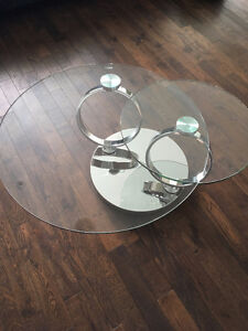 Apus Glass Coffee Table