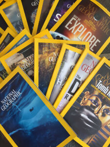 National Geographic -18 issues from latest 2 years