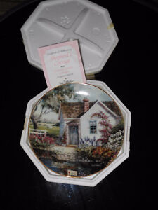 """Shepherd's Cottage"" collector plate."