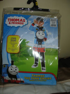THOMAS HALLOWEEN/PARTY COSTUME & HAT LIKE NEW FIT 3-5 YEAR OLD