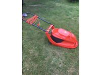 FLYMO HOVER VAC LAWNMOWER, LIKE NEW (CAN DELIVER)