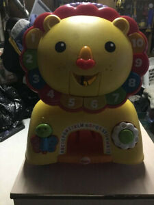 Fisher price lion walker/activity center and ride on for sale!