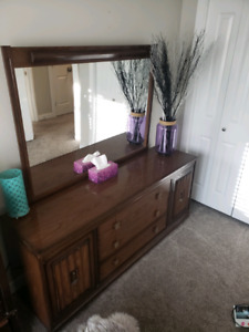 Wood Dresser - Good condition