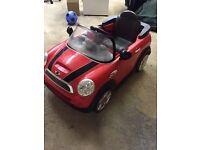 Kids Mini motorised car