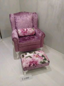 Queen Anna Antique Chair- Perfect for baby room