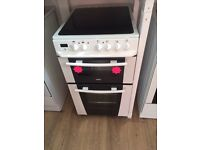 *****Zanussi 50cm ceramic top Double oven cooker*****Free Delivery*Fitting*Removal