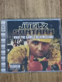 JUELZ SANTANA - WHAT THE GAME'S BEEN MISSING - CD - RAP / HIP HOP