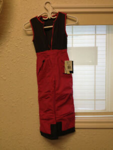 Toddlers Size 5T Arctix Lined Bib Overalls New with tags