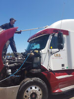 Mobile Wash -We use hot water and brushes. We come to you.